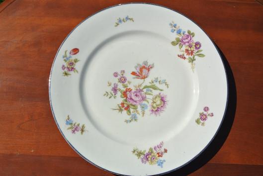 Ma jolie vaisselle fleurie