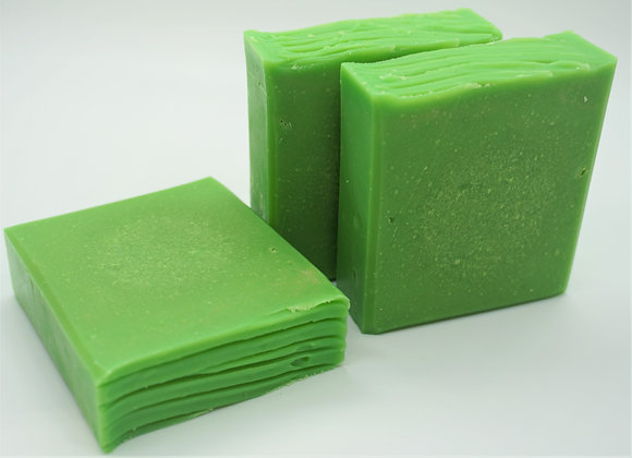 Lemongrass and Kiwi Goat's Milk Soap