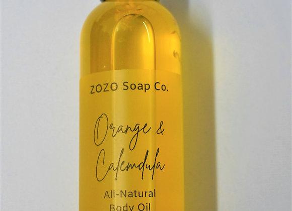 Orange and Calendula Body Oil