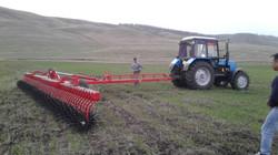БР-12 в поле