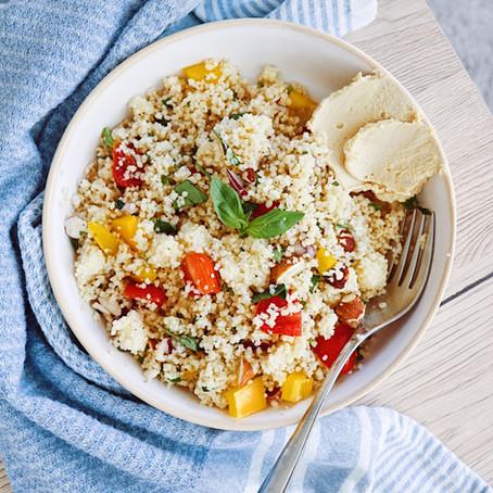 Mediterranean Cous Cous Salad