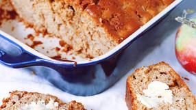 School Friendly Apple Cinnamon Bread