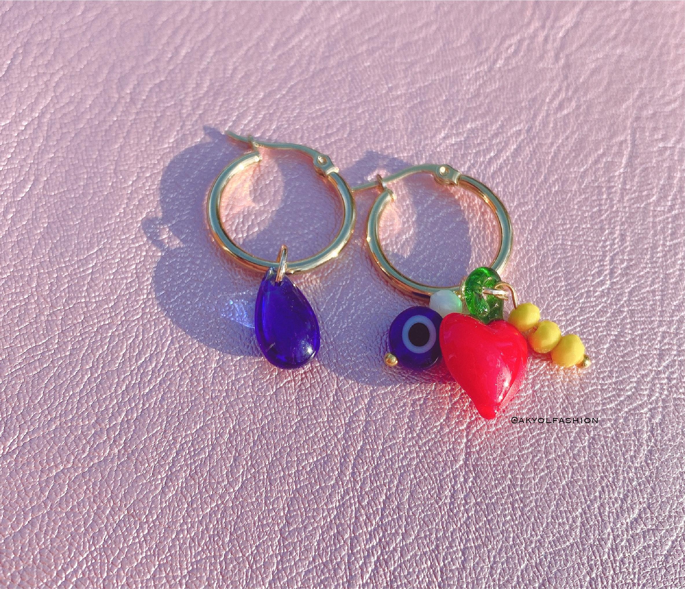 Gold Dolce Hoop Earrings