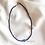 Thumbnail: Dark Blue Lucky Evil Eye Necklace With Light Blue Evil Eye Bead - 3 mm
