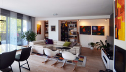 Ethno Industrial Living Room