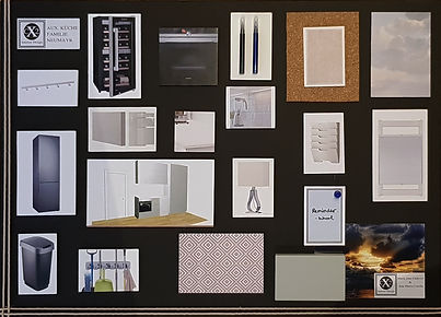 Pantry and Kitchen moodboard