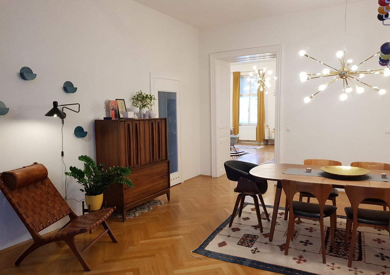 Vintage Midcentury Modern Dining Room