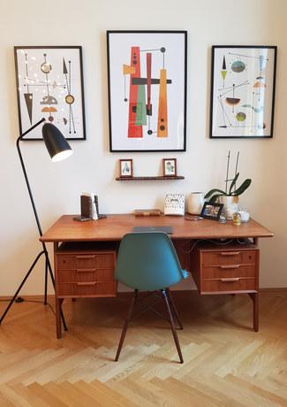 Vintage Midcentury Modern Living Room
