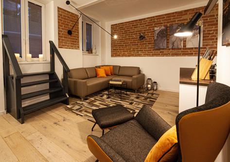 Moderne-Industrial Bachelor Wohnung Wien.