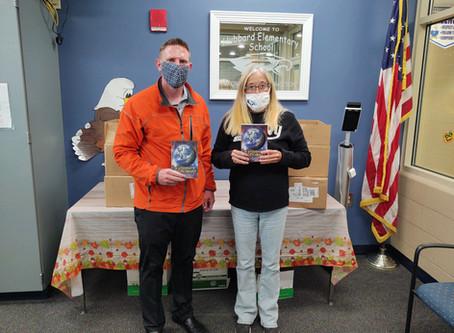 Rotary donates dictionaries to third graders