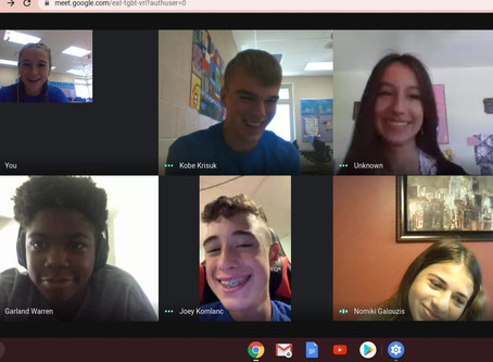 Link Leaders virtually connect with incoming freshmen!