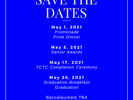 HHS Save the Dates