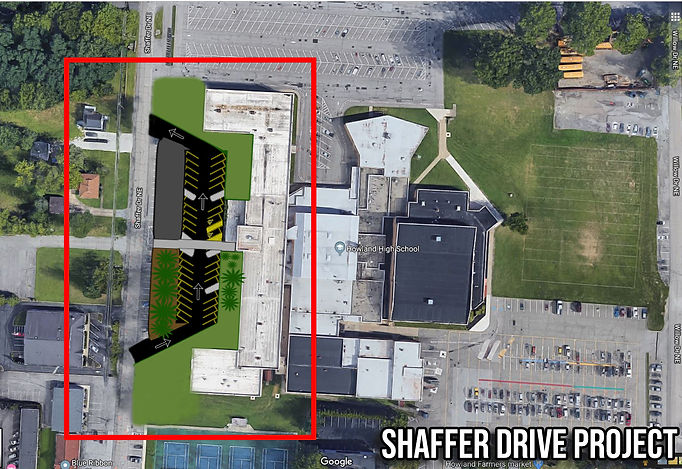 Howland High School Shaffer Ave Project.