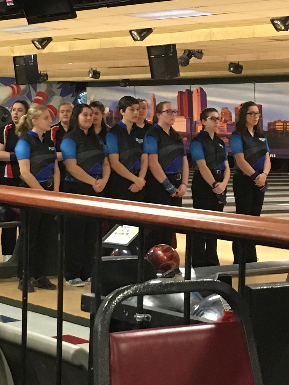 Hubbard Bowling Team