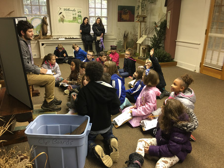 Second grade students visit Ford Nature Center