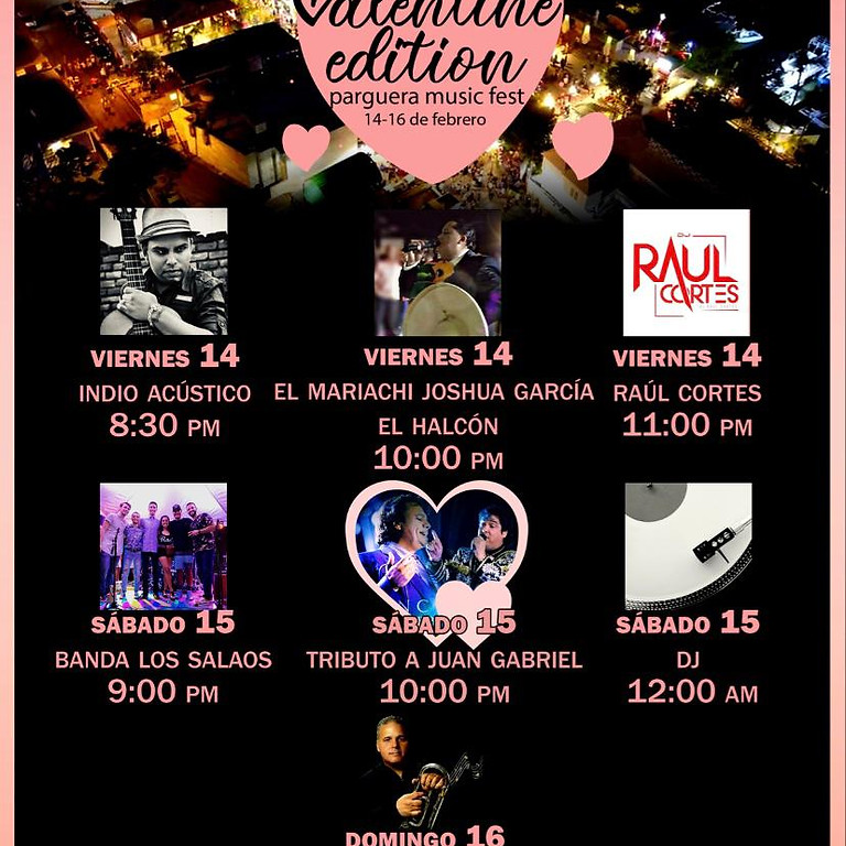 Valentine Edition Parguera Music Fest