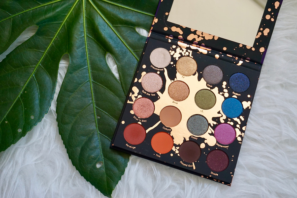 Perception palette Shayla X Colourpop