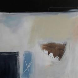 45cm x 45cm  Acrylic on canvas