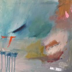 40cm x 40cm  Acrylic on canvas