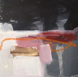 20cm x 20cm  Acrylic on canvas