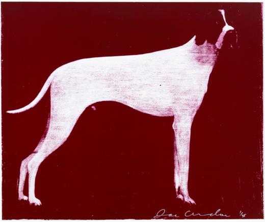 Large Dog (Burgundy)