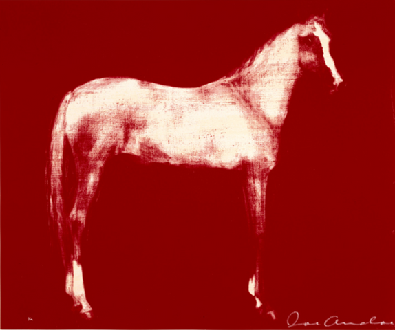 Horse X 12 (Red)