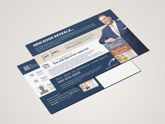 Direct Mail Workshop Postcard