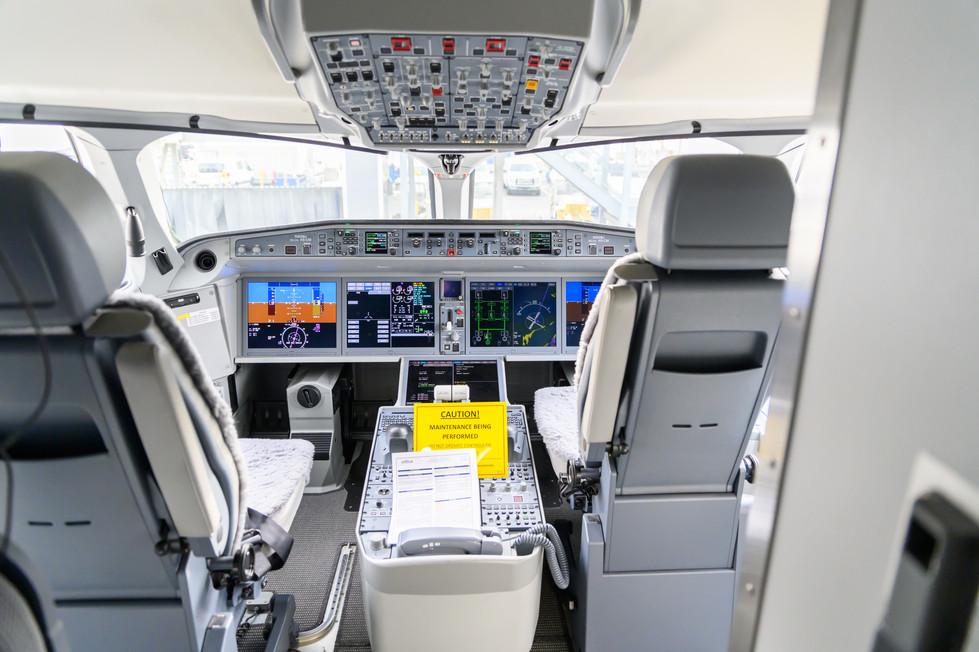 Cockpit Horizontal