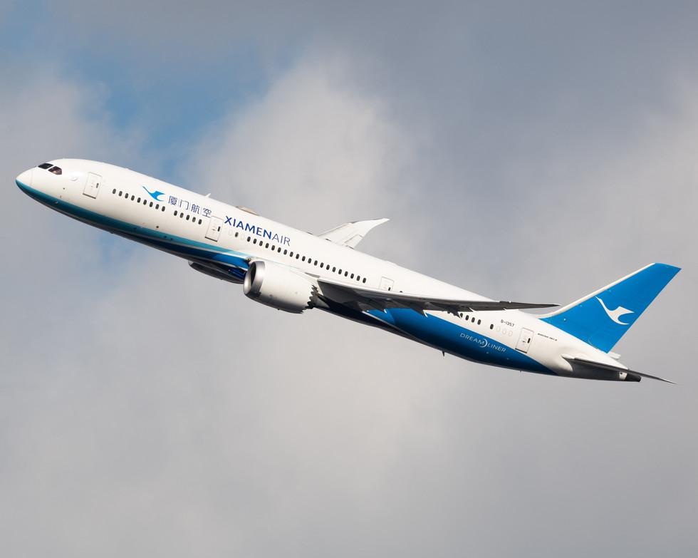 Xiamen Airlines Boeing 787