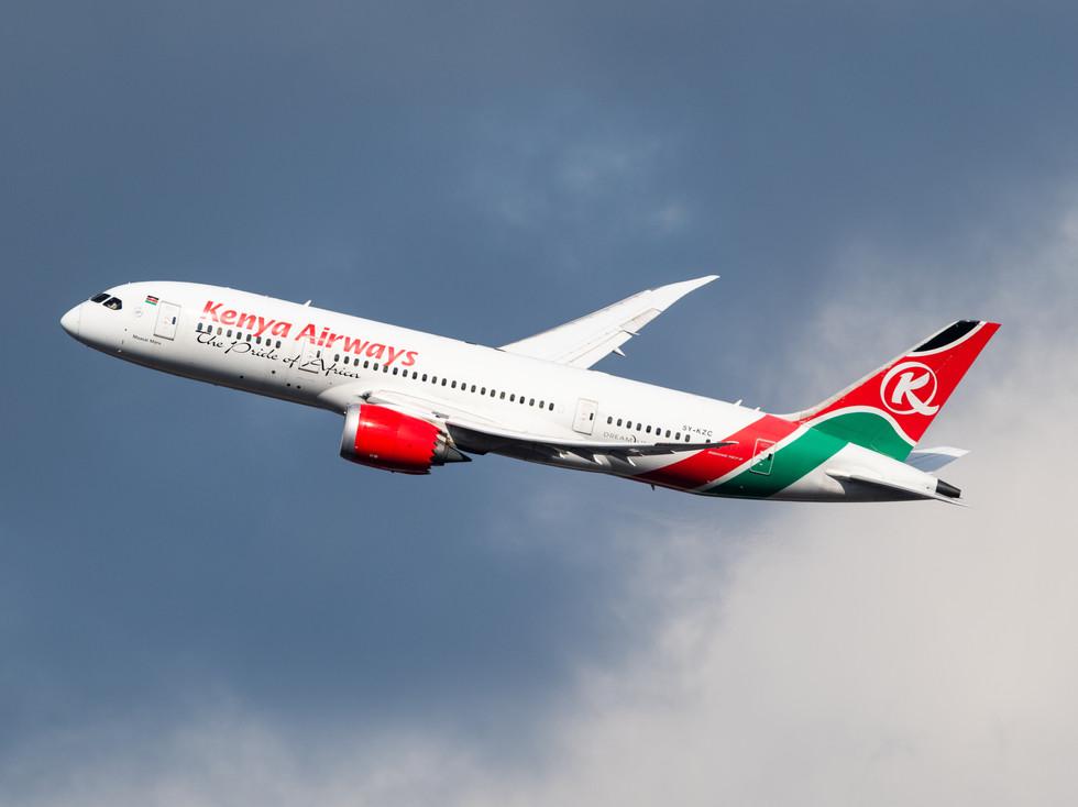 Kenya Airways Boeing 787