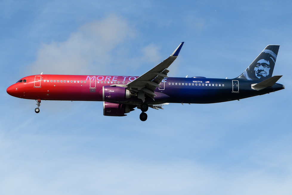 Alaska Airlines (More to Love)