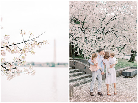 May 31st, 2021 | A Cherry Blossom Spring Family Session