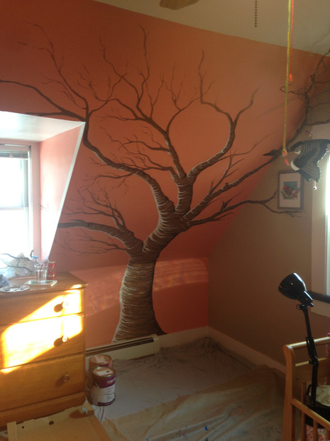 Willow's Room Mural