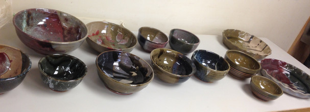 Hot out of the Kiln Pots