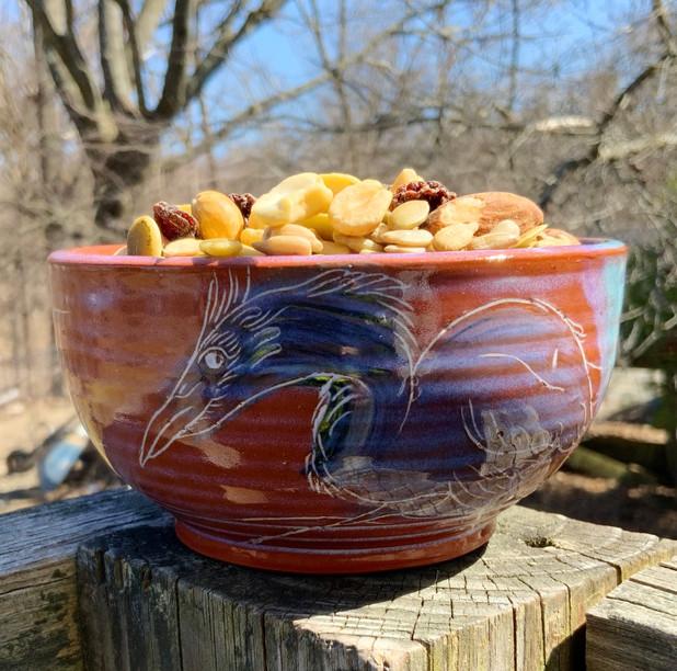 Water Bird Small Bowl