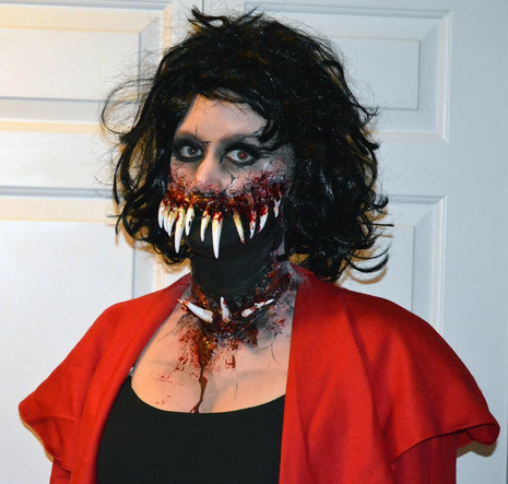 1st Place Scary Costume!