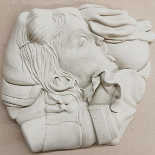carving in the clay_ #momartist.jpg