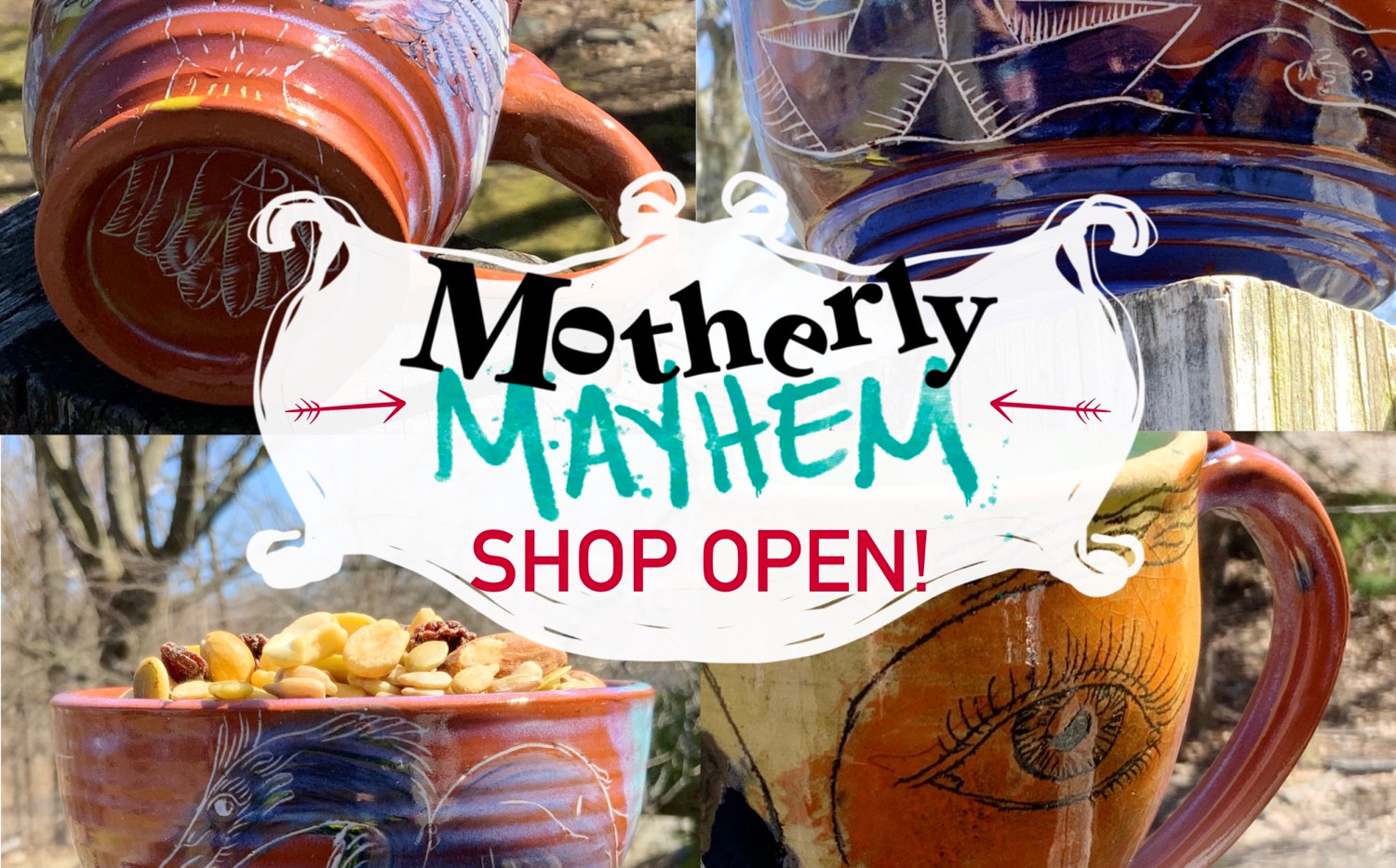 Motherly Mayhem Pottery Sale!