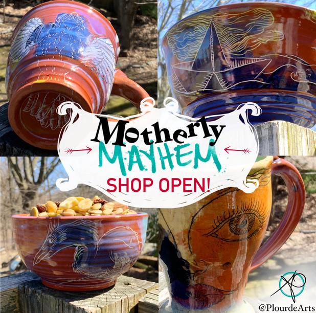 Motherly Mayhem Pottery Sale!