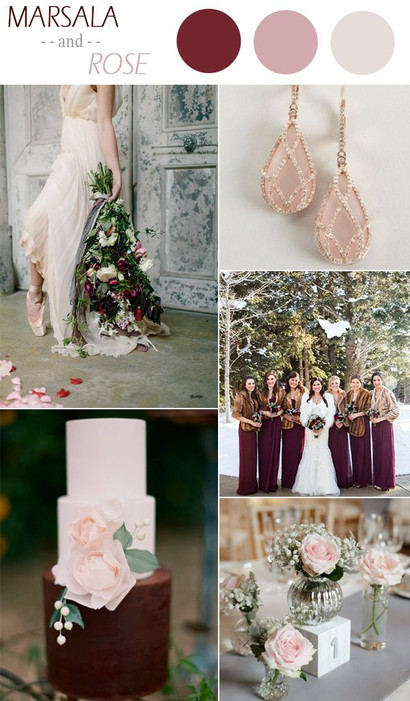 Wedding Colour Palettes for The Big Day