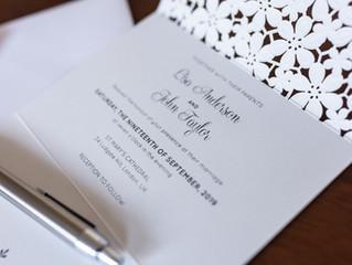 DESIGNER WEDDING INVITATIONS &WEDDING STATIONERY