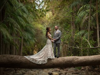 2 weddings 1 weekend, Tamborine Mountains with Cherry Photography Brisbane