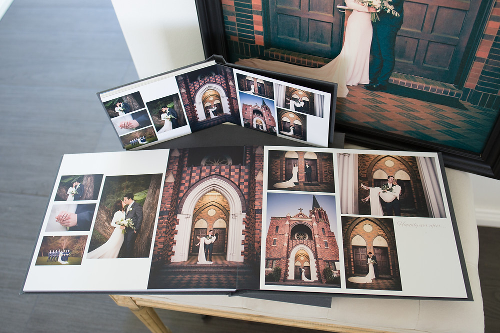 Wedding Prints ,albums & framed canvases Cherry Photography