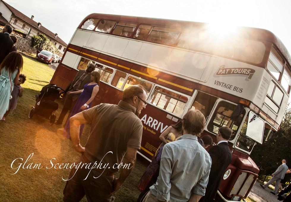 bus per trasporto invitati