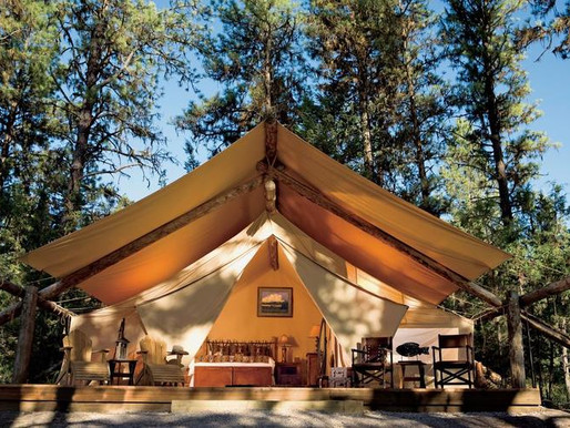 The Luxury of Glamping - It's Not For Sissies