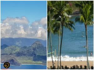Kauai - arrival and beach