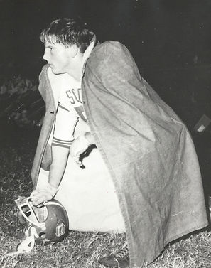 Teenage McNair playing football