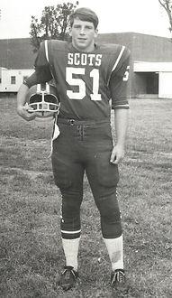 Teenage McNair football player