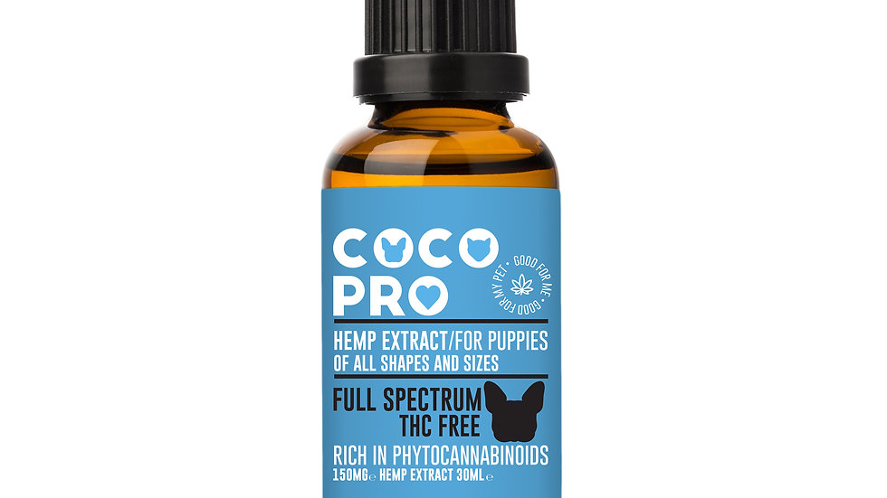 Coco Pro 150mg Full Spectrum Extract for Puppies