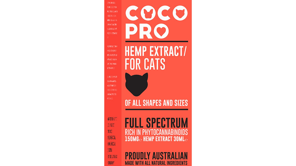 Coco Pro 150mg Full Spectrum Hemp Extract for Cats